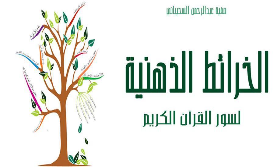 الخرائط الذهنية لسور القرآن الكريم - صفية عبد الرحمن السحيباني